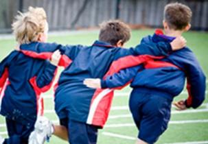 Brighton grammar Junior School Boys on Oval