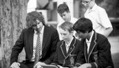 Teacher at innovative boys private school in bayside with Year 8 Students