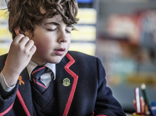 Brighton Grammar Junior School Boy in Class