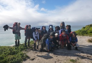 Leading Boys School, Brighton Grammar's Year 9 King Island Hike 2015
