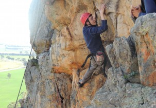 Leading Boys School, Brighton Grammar Year 10 Rock Climbing Mt Arapiles 2015