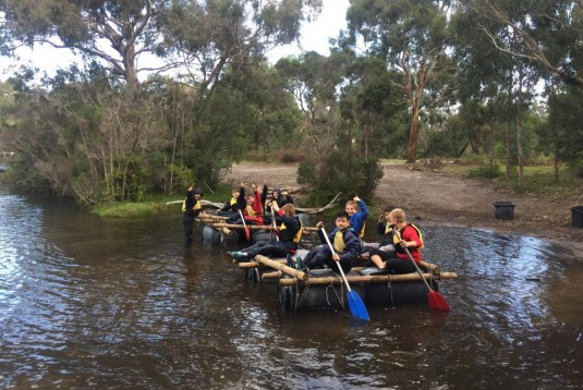 Brighton grammar Year 6 Gippsland Lakes Camp Coolamatong