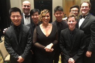 Leading Boys Private School in melbourne, Brighton Grammar, Music Boys Perform with Kate Cerebrano